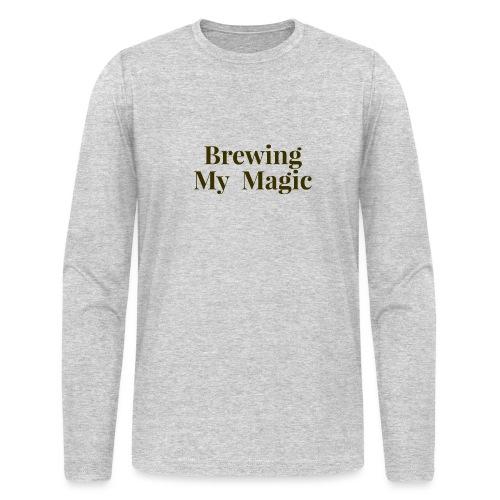 Brewing My Magic Women's Tee - Men's Long Sleeve T-Shirt by Next Level