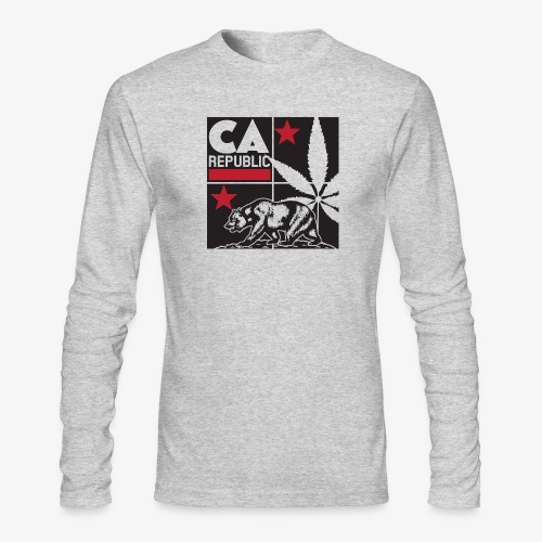 grid2 png - Men's Long Sleeve T-Shirt by Next Level