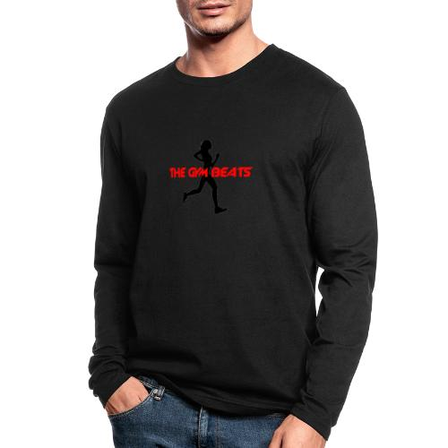 THE GYM BEATS - Music for Sports - Men's Long Sleeve T-Shirt by Next Level