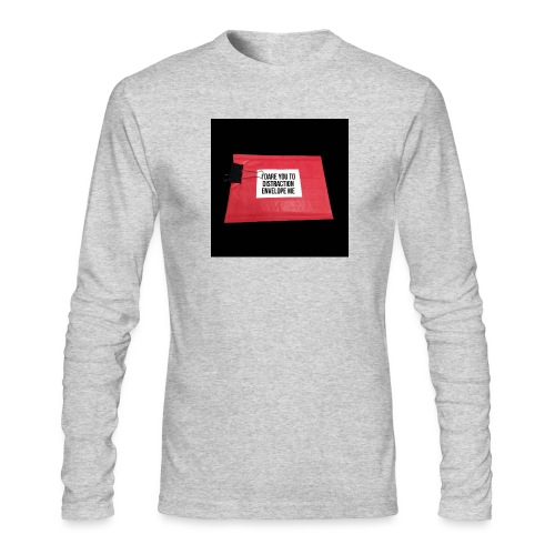 Distraction Envelope - Men's Long Sleeve T-Shirt by Next Level