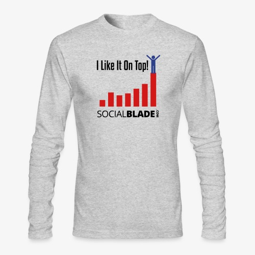 I Like It On Top - Guy - Men's Long Sleeve T-Shirt by Next Level
