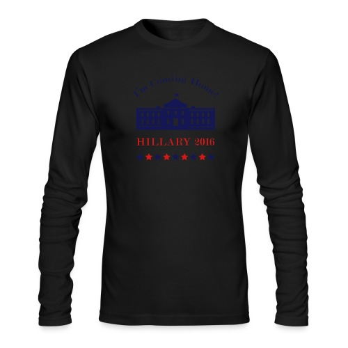 Hillary - I'm Coming Home - Men's Long Sleeve T-Shirt by Next Level