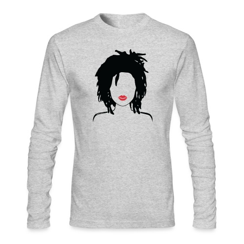 Locs & Lipstick_Global Couture Women's T-Shirts - Men's Long Sleeve T-Shirt by Next Level