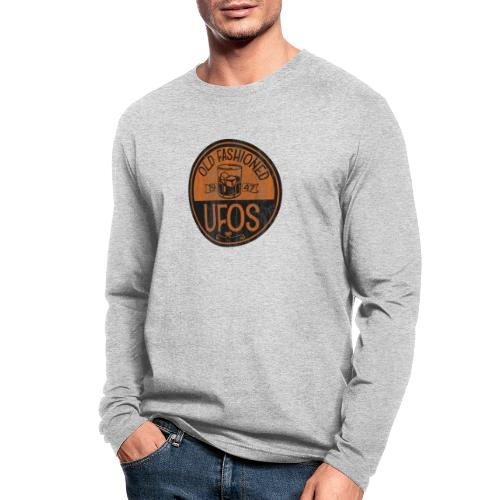 Old Fashioned UFOs logo - Men's Long Sleeve T-Shirt by Next Level
