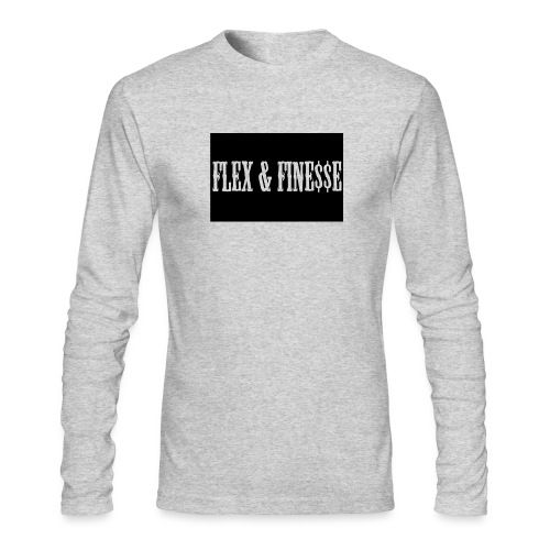 Flex & Fine$$e - Men's Long Sleeve T-Shirt by Next Level