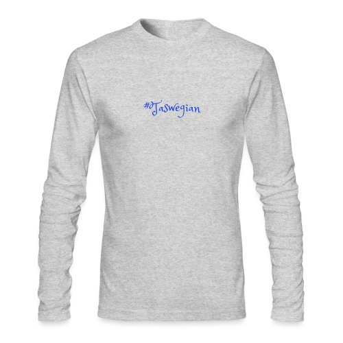 Taswegian Blue - Men's Long Sleeve T-Shirt by Next Level