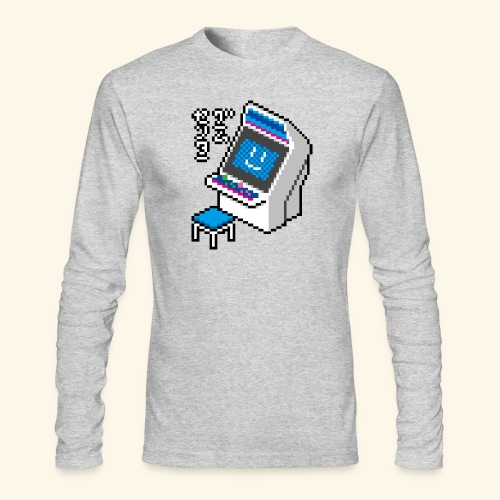 Pixelcandy_BC - Men's Long Sleeve T-Shirt by Next Level