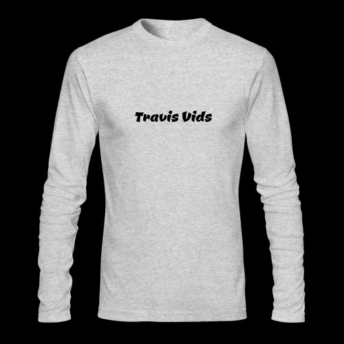 White shirt - Men's Long Sleeve T-Shirt by Next Level