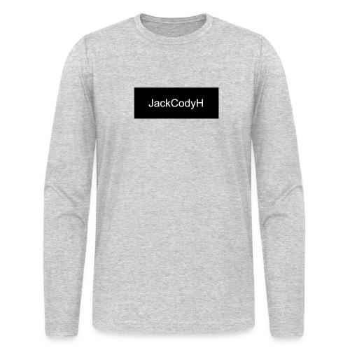 JackCodyH black design - Men's Long Sleeve T-Shirt by Next Level