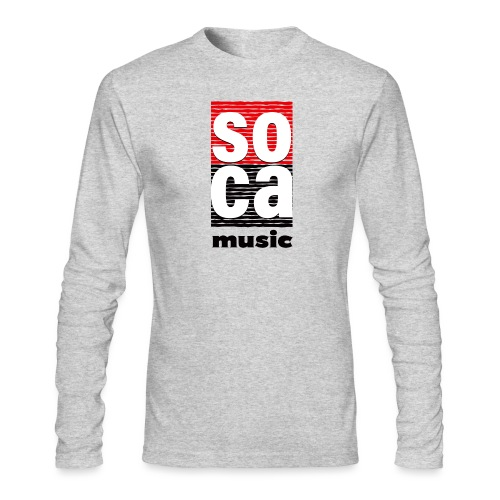 Soca music - Men's Long Sleeve T-Shirt by Next Level