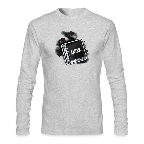 New CNTRL Logo - Men's Long Sleeve T-Shirt by Next Level