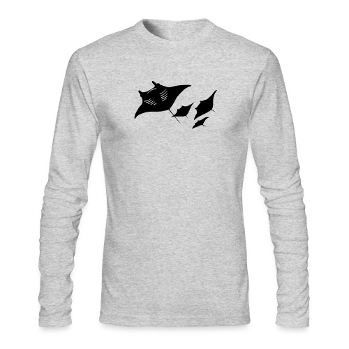 manta ray sting scuba diving diver dive - Men's Long Sleeve T-Shirt by Next Level