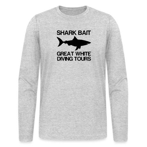 Great White Shark T-Shirt - Men's Long Sleeve T-Shirt by Next Level