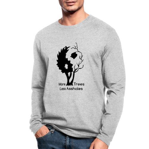 Yin Yang tree MTLA - Men's Long Sleeve T-Shirt by Next Level