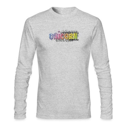 Undercover Unicorn - Men's Long Sleeve T-Shirt by Next Level