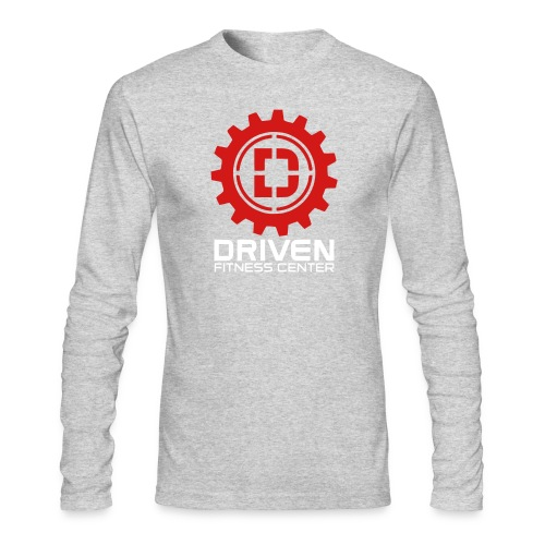 Stacked Logo - Men's Long Sleeve T-Shirt by Next Level