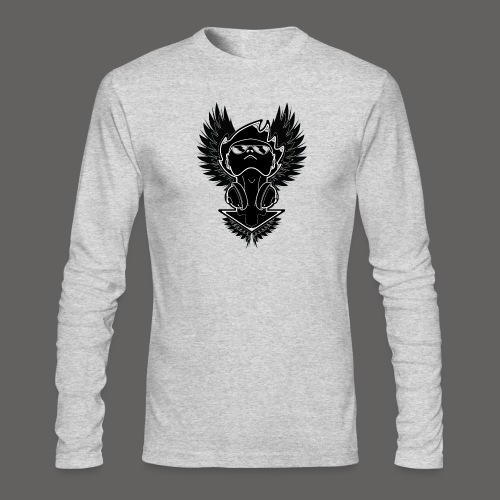 Winged Dj - Men's Long Sleeve T-Shirt by Next Level