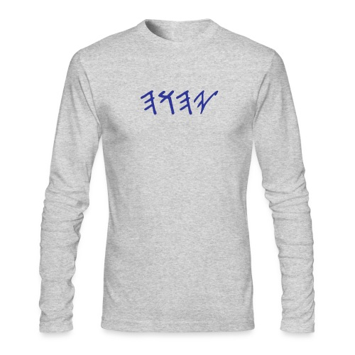 Paleo Hebrew 'Yahuwah - Men's Long Sleeve T-Shirt by Next Level