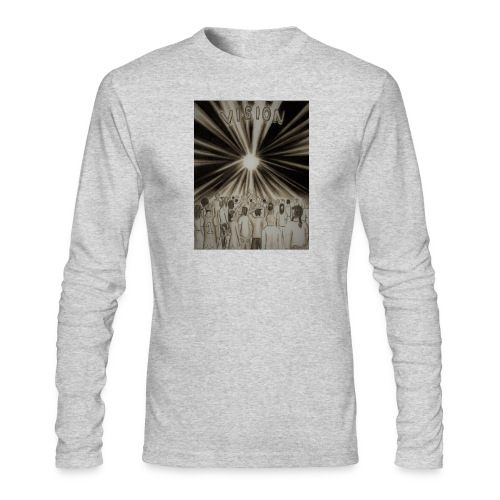 Black_and_White_Vision2 - Men's Long Sleeve T-Shirt by Next Level