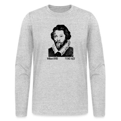 William Byrd Portrait - Men's Long Sleeve T-Shirt by Next Level