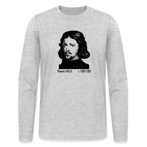 Thomas Tallis Portrait - Men's Long Sleeve T-Shirt by Next Level