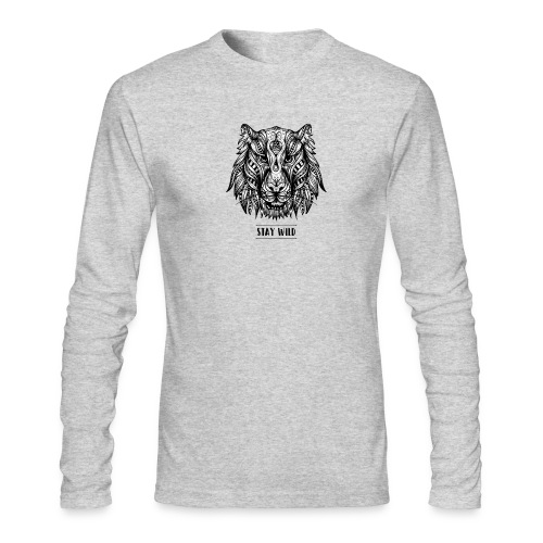 Stay Wild - Men's Long Sleeve T-Shirt by Next Level