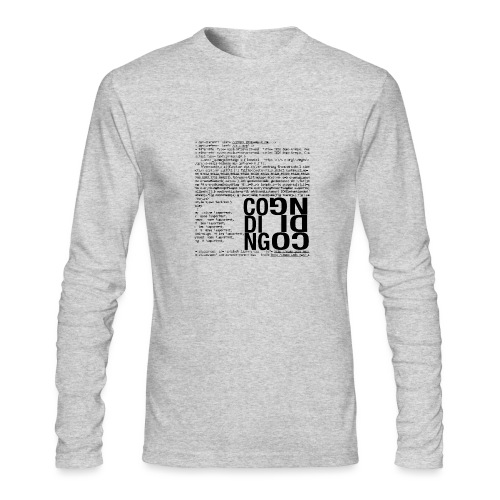 Coding - Men's Long Sleeve T-Shirt by Next Level