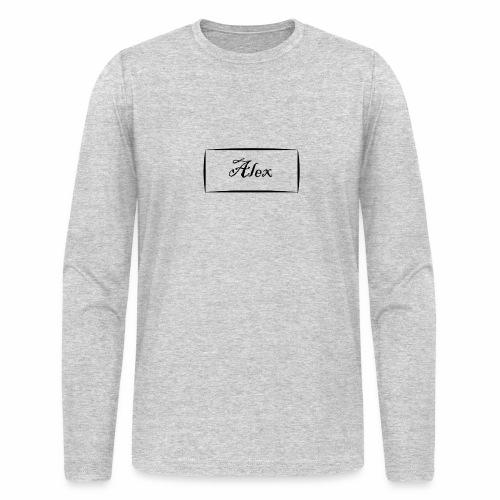 Alex - Men's Long Sleeve T-Shirt by Next Level