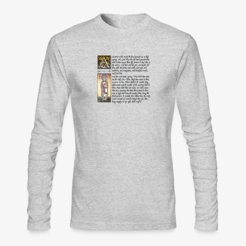 Holy Hand Grenade of Antioch - Men's Long Sleeve T-Shirt by Next Level