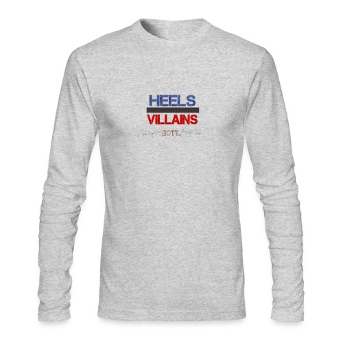 Eyes on the Ring Heels/Villains - Men's Long Sleeve T-Shirt by Next Level