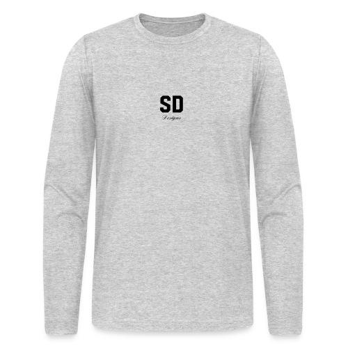 SD Designs blue, white, red/black merch - Men's Long Sleeve T-Shirt by Next Level