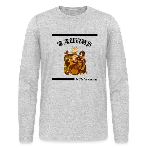TAURUS BLACK - Men's Long Sleeve T-Shirt by Next Level