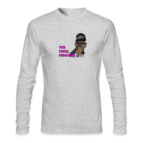 The Final Frontier - Men's Long Sleeve T-Shirt by Next Level