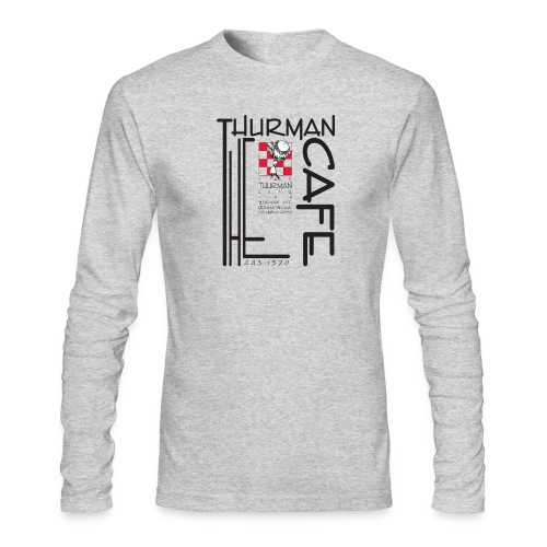 Thurman Cafe Traditional Logo - Men's Long Sleeve T-Shirt by Next Level