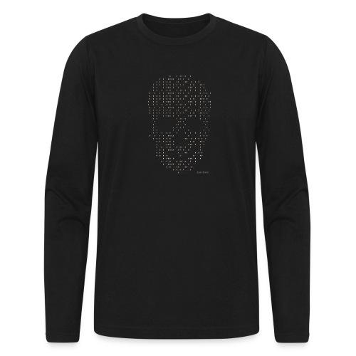 Hacker binary - Mens - Men's Long Sleeve T-Shirt by Next Level