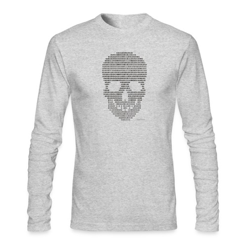 Hacker binary - Mens - Men's Long Sleeve T-Shirt by Next Level