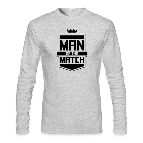 Man of the Match - Men's Long Sleeve T-Shirt by Next Level