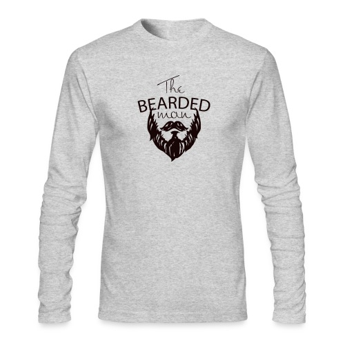 The bearded man - Men's Long Sleeve T-Shirt by Next Level
