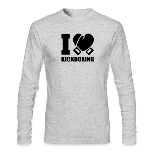 I Love Kickboxing - Men's Long Sleeve T-Shirt by Next Level