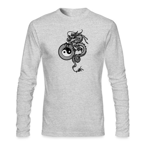 dragon - Men's Long Sleeve T-Shirt by Next Level