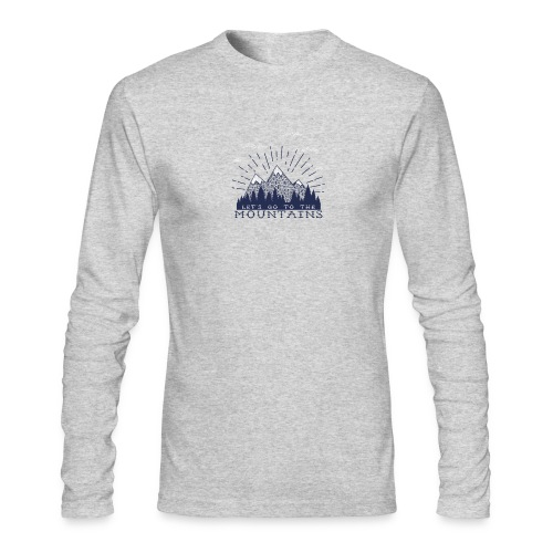 Adventure Mountains T-shirts and Products - Men's Long Sleeve T-Shirt by Next Level