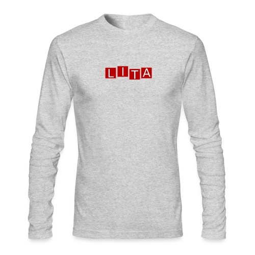 LITA Logo - Men's Long Sleeve T-Shirt by Next Level