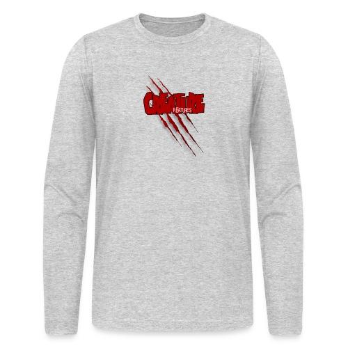 Creature Features Slash T - Men's Long Sleeve T-Shirt by Next Level
