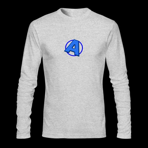 Awesomegamer Logo - Men's Long Sleeve T-Shirt by Next Level