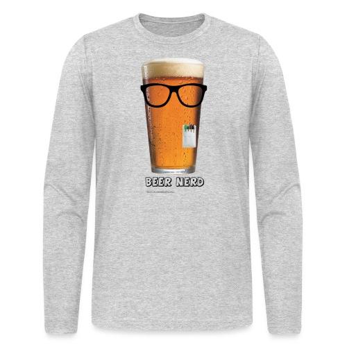 Beer Nerd Men's 3XL/4XL Hooded Sweatshirt - Men's Long Sleeve T-Shirt by Next Level