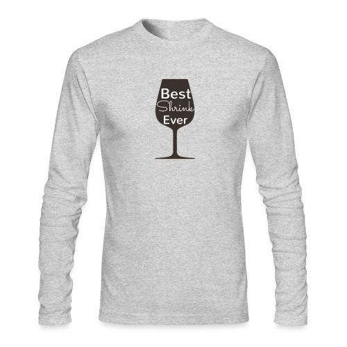 Alcohol Shrink Is The Best Shrink - Men's Long Sleeve T-Shirt by Next Level