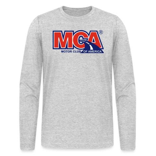MCA_Logo_WBG_Transparent - Men's Long Sleeve T-Shirt by Next Level