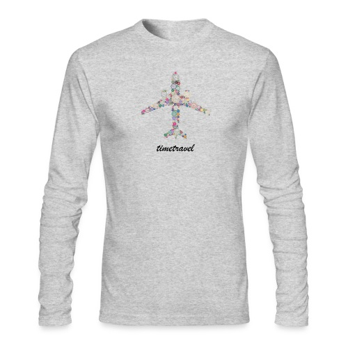 Time To Travel - Men's Long Sleeve T-Shirt by Next Level