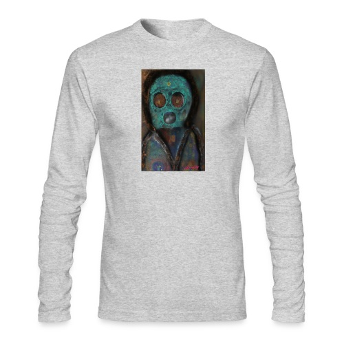 The galactic space monkey - Men's Long Sleeve T-Shirt by Next Level