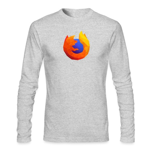 Firefox Reality Logo - Men's Long Sleeve T-Shirt by Next Level